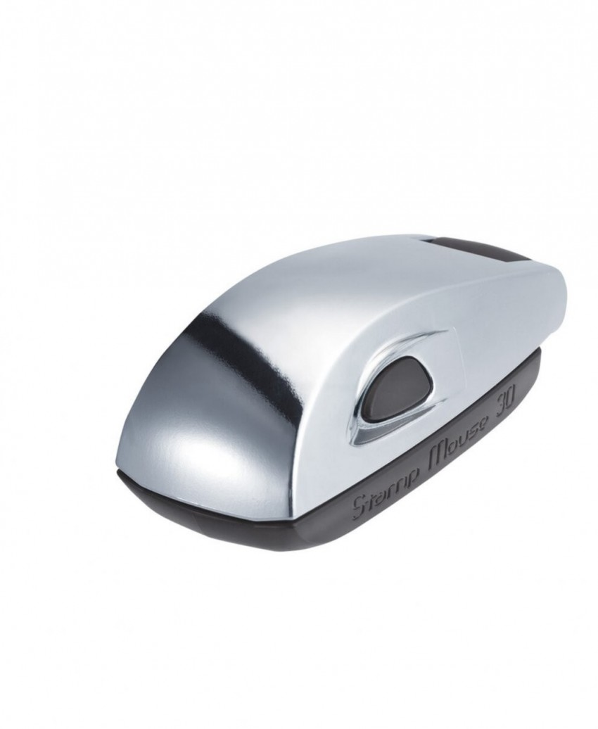 Colop Stamp Mouse 30 Chrome Limited Edition